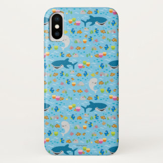 Finding Dory Colorful Pattern Case-Mate iPhone Case