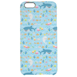 Finding Dory Colorful Pattern Clear iPhone 6 Plus Case