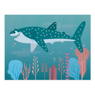 Finding Dory   Destiny the Whale Shark Postcard
