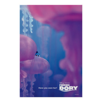 Finding Dory | Hide and Seek - Jellyfish Poster