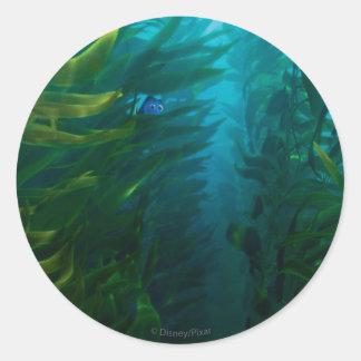 Finding Dory | Hide and Seek - Sea Kelp Round Sticker