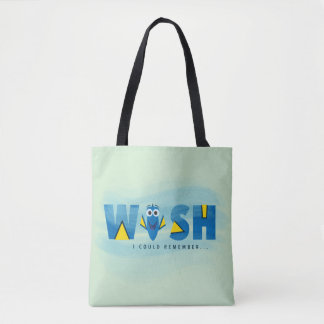Finding Dory  I Wish I Could Remember Tote Bag