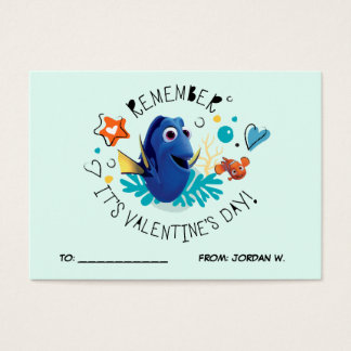 Finding Dory   It's Valentine's Day 100pk Card