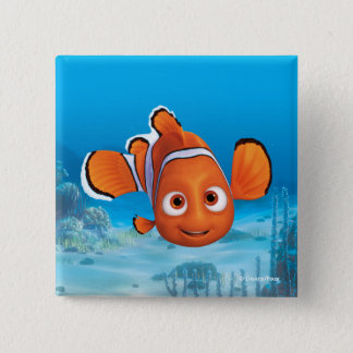 Finding Dory Nemo 2 Inch Square Button
