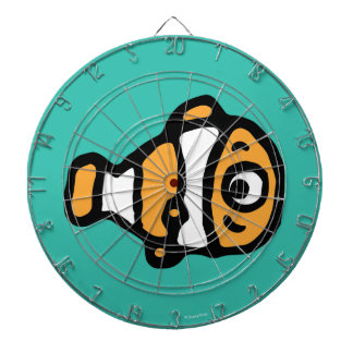 Finding Dory | Nemo Cartoon Dartboard With Darts