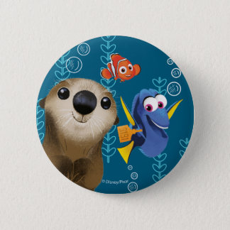 Finding Dory | Nemo, Dory & Otter 2 Inch Round Button