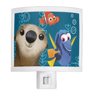 Finding Dory | Nemo, Dory & Otter Night Light