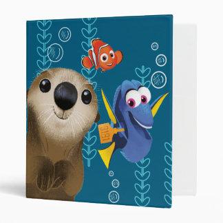 Finding Dory   Nemo, Dory & Otter Vinyl Binder