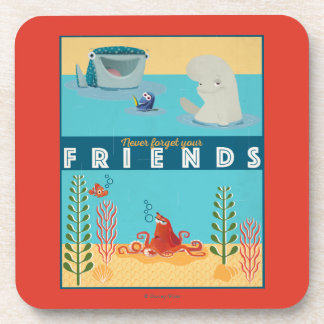 Finding Dory | Never Forget Your Friends Coasters