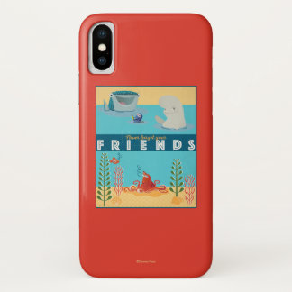 Finding Dory   Never Forget Your Friends iPhone X Case