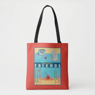 Finding Dory   Never Forget Your Friends Tote Bag