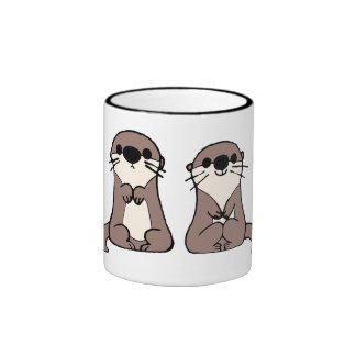 Finding Dory | Otter Cartoon Ringer Coffee Mug
