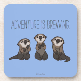 Finding Dory Otters Coasters