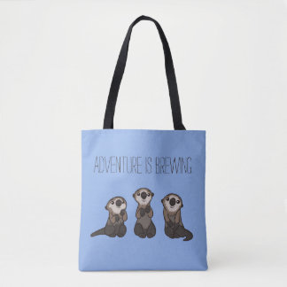 Finding Dory Otters Tote Bag