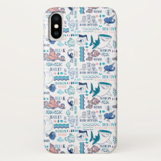 Finding Dory Pastel Pattern iPhone X Case