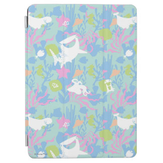 Finding Dory Pastel Sea Pattern iPad Air Cover