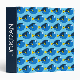 Finding Dory Pattern 3 Ring Binders