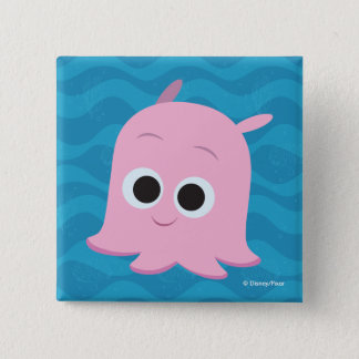 Finding Dory | Pearl 2 Inch Square Button