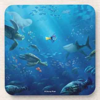 Finding Dory   Poster Art Drink Coaster