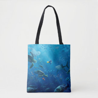 Finding Dory   Poster Art Tote Bag
