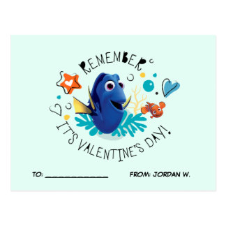 Finding Dory | Remember it's Valentine's Day! Postcard