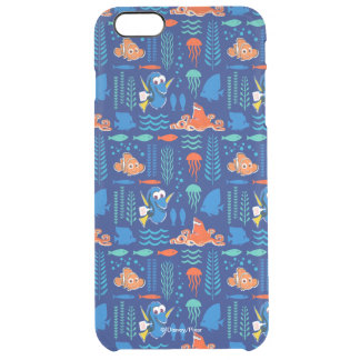 Finding Dory Sea Pattern Clear iPhone 6 Plus Case