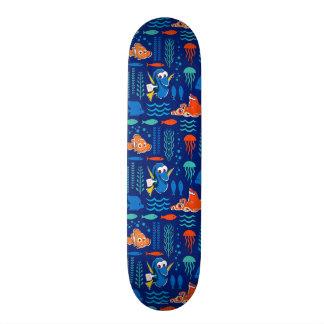 Finding Dory Sea Pattern Skateboards