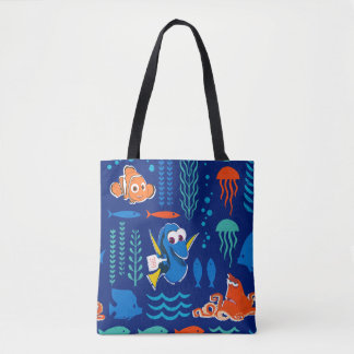 Finding Dory Sea Pattern Tote Bag