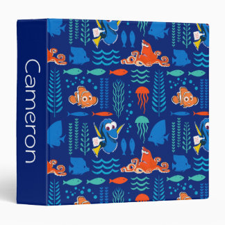 Finding Dory Sea Pattern Vinyl Binder