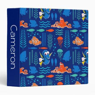 Finding Dory Sea Pattern Vinyl Binder