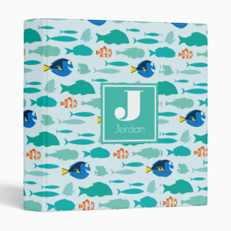 Finding Dory Silhouette Pattern Binders