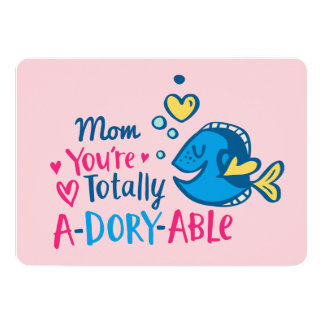Finding Dory   Totally A-Dory-Able Valentine Card