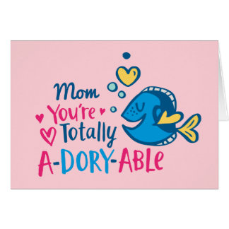 Finding Dory | Totally A-Dory-Able Valentine Card