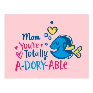 Finding Dory | Totally A-Dory-Able Valentine Postcard