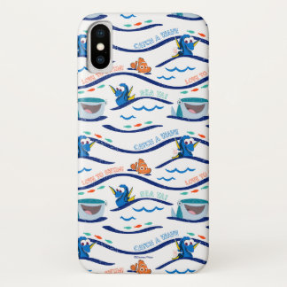 Finding Dory Wave Pattern iPhone X Case