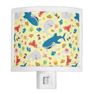 Finding Dory Yellow Pattern Nite Light