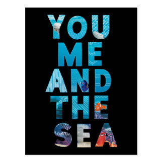 Finding Dory | You Me & the Sea Postcard