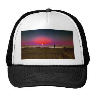 Finding Harmony in Balance Beach Sunrise Meditatio Trucker Hat