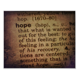 Finding Meaning - Hope Photo Print