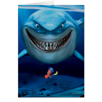 Finding Nemo | Bruce Grinning Card