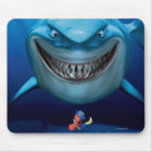 Finding Nemo   Bruce Grinning Mouse Pad