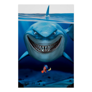 Finding Nemo | Bruce Grinning Poster