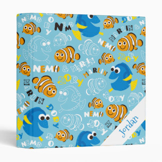 Finding Nemo   Dory and Nemo Pattern 3 Ring Binders
