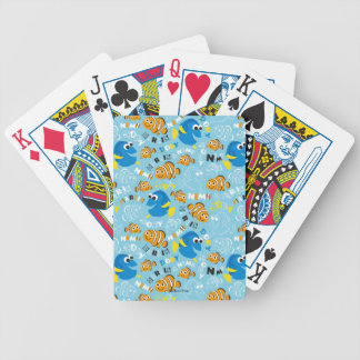 Finding Nemo | Dory and Nemo Pattern Bicycle Playing Cards