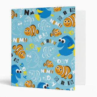 Finding Nemo   Dory and Nemo Pattern Binders
