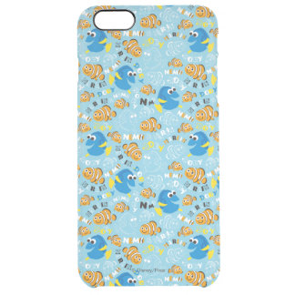 Finding Nemo | Dory and Nemo Pattern Clear iPhone 6 Plus Case