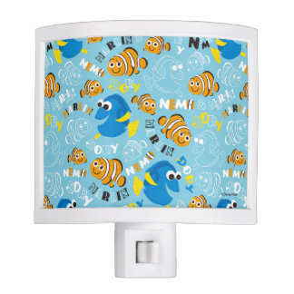 Finding Nemo | Dory and Nemo Pattern Night Lite