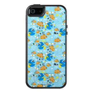 Finding Nemo | Dory and Nemo Pattern OtterBox iPhone 5/5s/SE Case