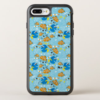 Finding Nemo | Dory and Nemo Pattern OtterBox Symmetry iPhone 8 Plus/7 Plus Case