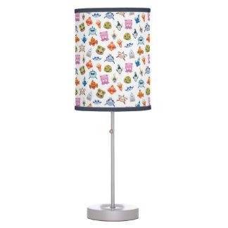 Finding Nemo Emoji Pattern Table Lamp